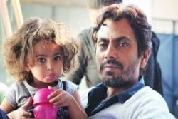 Nawazuddin Siddiqui Family Photo