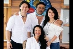 Jackie Shroff Family Photo