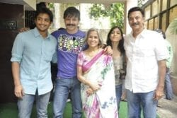 Vivek Oberoi Family Photo