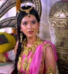 Mahabharat TV Serial All Characters Real Names With Photographs : Goddess Rukmini real name is Pallavi Subhash