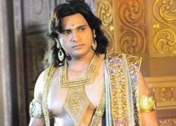 Mahabharat TV Serial All Characters Real Names With Photographs : Bhima real name is Saurav Gurjar