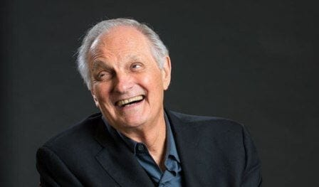 "Benjamin Franklin ""Hawkeye"" Pierce aka Alan Alda"