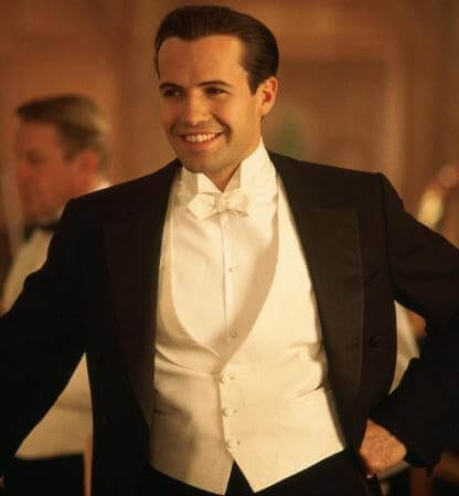 "Billy Zane as ""Cal"" Hockley."