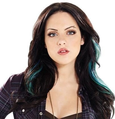 Jade West aka Elizabeth Gillies