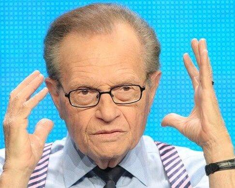 Larry King aka Lawrence Leibel Harvey Zeiger