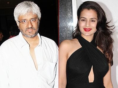 Ameesha Patel and Vikram Bhatt
