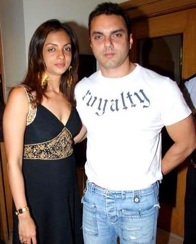 Sohail Khan Couple Pic