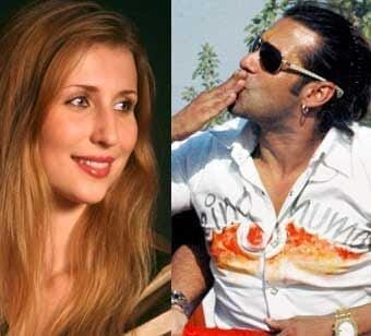 Claudia Ciesla with Salman Khan