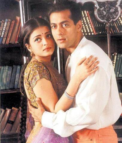 Aishwarya Rai with Salman Khan