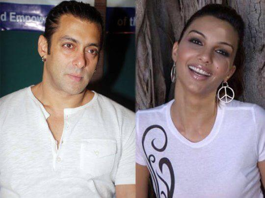 Somy Ali with Salman Khan