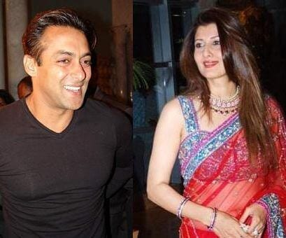 Sangeeta Bijlani with Salman Khan