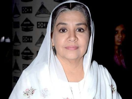 Sushma Khushwant Mehra Nani real name is Farida Jalal