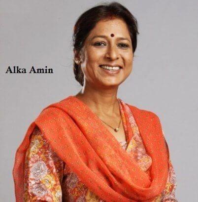 Sharda Sachdev aka Alka Amin