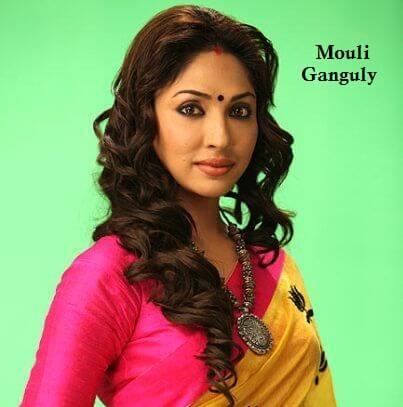 Tanushree Dasgupta aka Mouli Ganguly