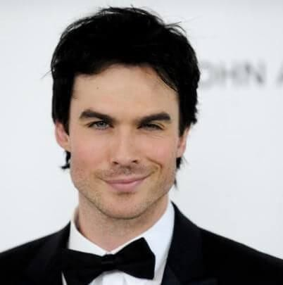 Damon Salvatore aka Ian Somerhalder