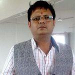 Jogeshwar Prasad original name is Atul Srivastava