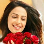 Sandhya original name is Dimple Jhangiani