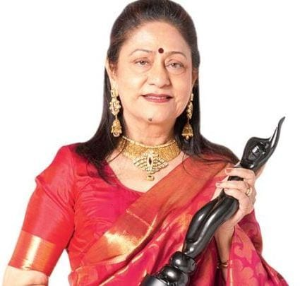 Narayani Devi original name is Aruna Irani