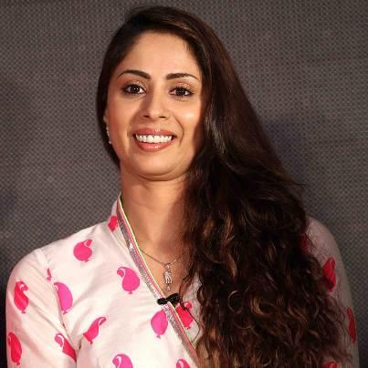 Saanchi Dhruv Goel original name is Sangeeta Ghosh