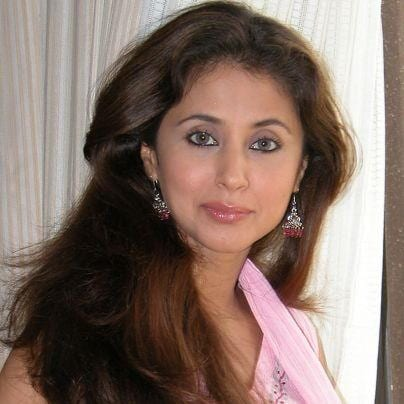 Clone Bala's girlfriend in future original name is Urmila Matondkar