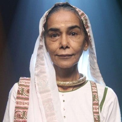 Dadi original name is Surekha Sikri