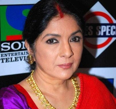 the wife original name is Neena Gupta