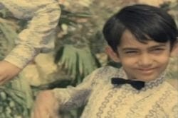 Aamir Khan Childhood Photo