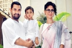 Aamir Khan Family Photo