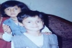 Disha Patani Childhood photo