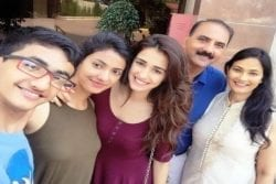 Disha Patani Family photo