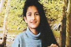 Katrina Kaif Childhood Photo