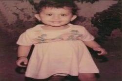 Mandana Karimi Childhood Photo