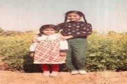 Nimrat Kaur Childhood Photo
