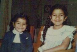 Nimrat Kaur Childhood Photo