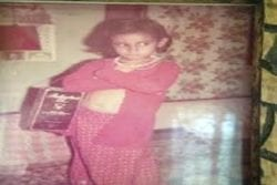 Pooja Hedge Childhood Photo