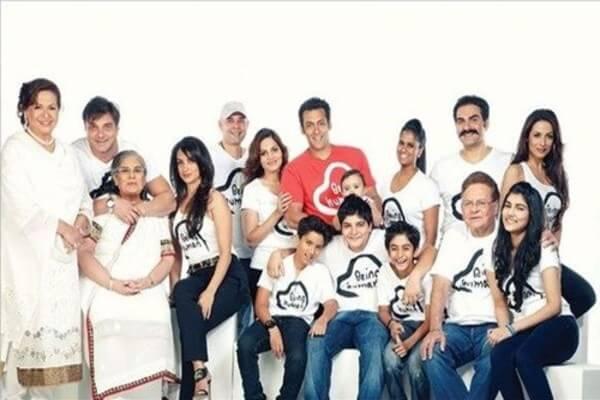 Salman Khan Family Photo