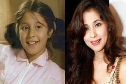 Urmila Matondkar Childhood Photo