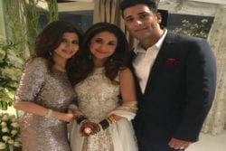 Urmila Matondkar Family Photo