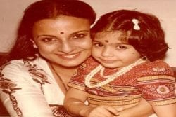 Kajol Childhood Photo
