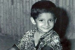Mahesh Babu Childhood Photo