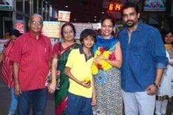 Madhavan Family Photo