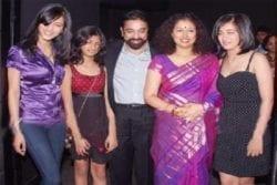 Kamal Haasan Family Photo
