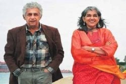 Naseeruddin Shah Family Photo