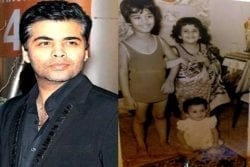 Karan Johar Childhood Photo