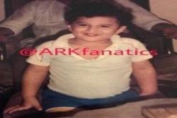 Aditya Roy Kapur Childhood Photo