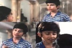 Aftab Shivdasani Childhood Photo