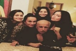 Alia Bhatt Family Photo
