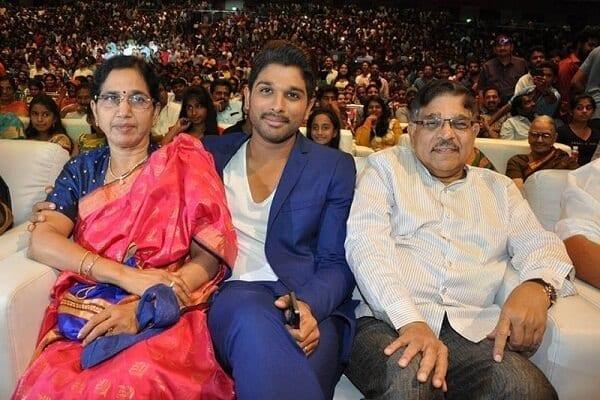 allu arjun height family photos father name height wife name