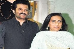 Anil Kapoor Family Photo