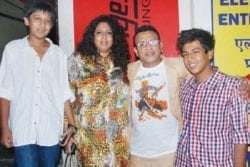 Annu Kapoor Family Photo